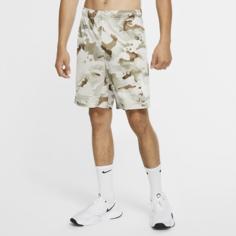 Мужские шорты для тренинга с камуфляжным принтом Nike Dri-FIT - Зеленый