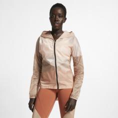 Женская беговая куртка с капюшоном Nike Tech Pack - Розовый