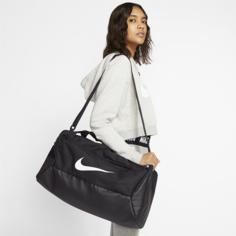 Сумка-дафл для тренинга Nike Brasilia (маленький размер) - Черный