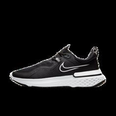 Мужские беговые кроссовки Nike React Miler Shield - Черный