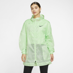 Женская куртка из тканого материала Nike Sportswear - Зеленый