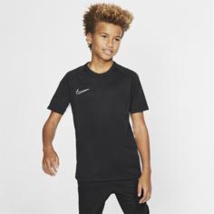 Игровая футболка с коротким рукавом для школьников Nike Dri-FIT Academy - Черный
