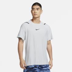 Мужская футболка с коротким рукавом Nike Pro - Серый