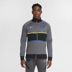 Мужская футбольная куртка Inter Milan - Серый Nike