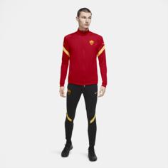 Мужской трикотажный футбольный костюм A.S. Roma Strike - Красный Nike