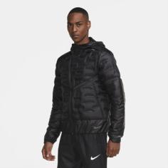 Мужская беговая куртка Nike AeroLoft - Черный