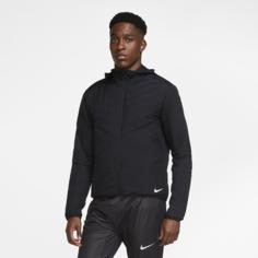 Мужская беговая куртка Nike Aerolayer - Черный