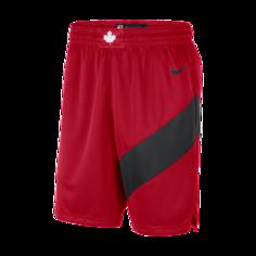 Мужские шорты Nike НБА Swingman Toronto Raptors Icon Edition 2020 - Красный