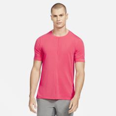 Мужская футболка с коротким рукавом Nike Yoga Dri-FIT - Красный