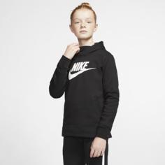 Худи для девочек Nike Sportswear - Черный