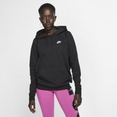 Женская флисовая худи Nike Sportswear Essential - Черный