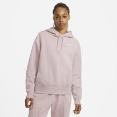 Женская флисовая худи Nike Sportswear - Розовый