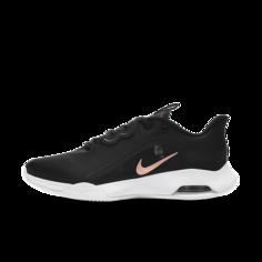 Женские теннисные кроссовки для грунтовых кортов NikeCourt Air Max Volley - Черный