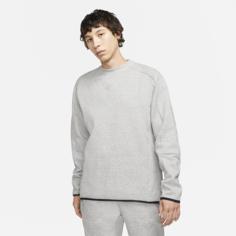 Мужской свитшот Nike Sportswear Tech Fleece - Серый