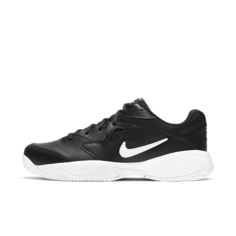 Мужские теннисные кроссовки для игры на кортах с твердым покрытием NikeCourt Lite 2 - Черный