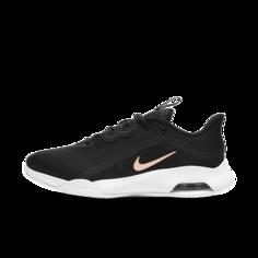 Женские теннисные кроссовки для игры на кортах с твердым покрытием NikeCourt Air Max Volley - Черный