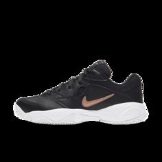 Женские теннисные кроссовки для игры на кортах с твердым покрытием NikeCourt Lite 2 - Черный