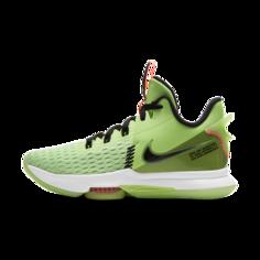 Баскетбольные кроссовки LeBron Witness 5 - Зеленый Nike
