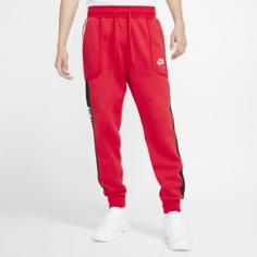 Мужские флисовые джоггеры Nike Air - Красный