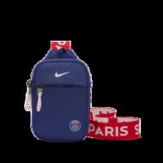 Футбольная сумка через плечо Paris Saint-Germain Stadium - Синий Nike