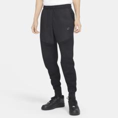 Мужские джоггеры из тканого материала Nike Sportswear Tech Fleece - Черный