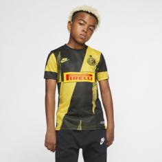 Игровая футболка с коротким рукавом для школьников Inter Milan - Желтый Nike