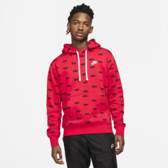 Мужская худи Nike Sportswear Club - Красный