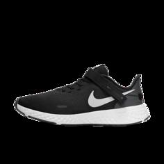 Мужские беговые кроссовки Nike Revolution 5 FlyEase (на очень широкую ногу) - Черный