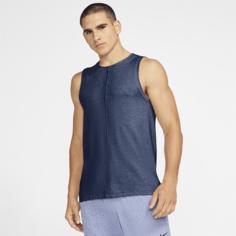 Мужская майка Nike Yoga - Синий