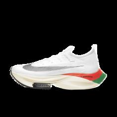 Мужские кроссовки для забегов Nike Air Zoom Alphafly NEXT% Eliud Kipchoge - Белый