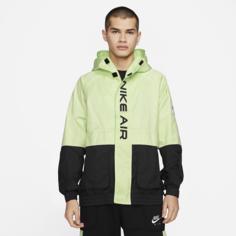 Мужская куртка с подкладкой и капюшоном Nike Air - Черный
