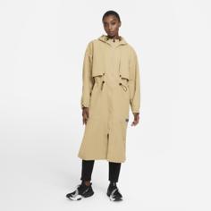 Женская куртка для тренинга со складной конструкцией Nike City Ready - Коричневый