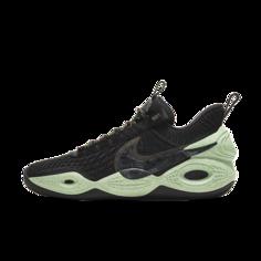 """Баскетбольные кроссовки Nike Cosmic Unity """"Green Glow"""" - Черный"""