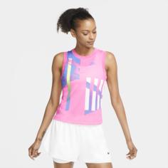 Женская теннисная майка NikeCourt Slam - Розовый