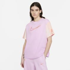 Женская футболка с коротким рукавом Nike Sportswear Essential - Розовый