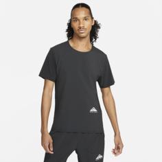 Футболка для трейлраннинга с коротким рукавом Nike Dri-FIT Rise 365 - Черный