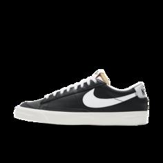 Мужские кроссовки Nike Blazer Low 77 Vintage - Черный
