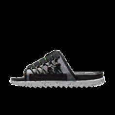 Мужские шлепанцы Nike Asuna Crater - Черный