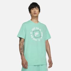 Мужская футболка Nike Sportswear JDI - Зеленый