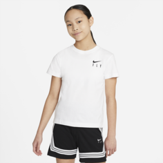 Футболка для девочек школьного возраста Nike Sportswear - Белый