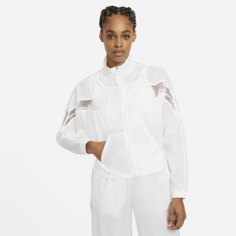 Женская куртка из тканого материала Nike Sportswear - Белый