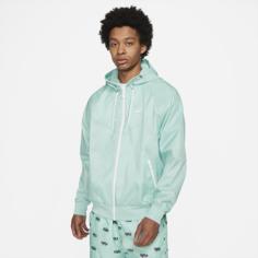 Мужская куртка с капюшоном Nike Sportswear Windrunner - Зеленый