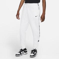 Мужские флисовые джоггеры Nike Sportswear - Белый