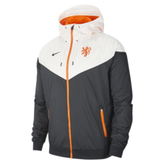 Мужская куртка Нидерланды Windrunner - Черный Nike