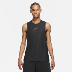 Мужская майка Nike Pro - Черный