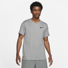 Мужская футболка с коротким рукавом Nike Pro Dri-FIT - Серый