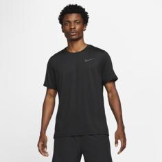 Мужская футболка с коротким рукавом Nike Pro Dri-FIT - Черный
