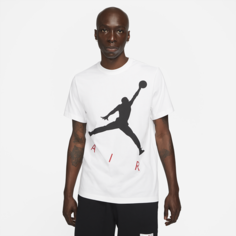 Мужская футболка с коротким рукавом Jordan Jumpman Air - Белый Nike
