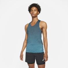 Мужская беговая майка Nike Run Division Pinnacle - Черный
