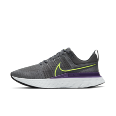 Мужские беговые кроссовки Nike React Infinity Run Flyknit 2 - Серый